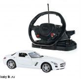 Р/у машина Mercedes SLS (1:14) с рулем управления Rastar