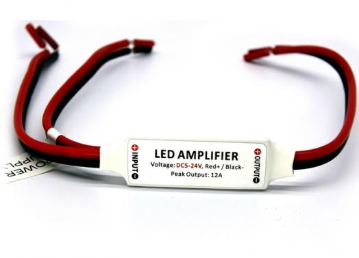Ультратонкий усилитель мощьности для контроллера светодинамики на 1 канал 12A (144W)