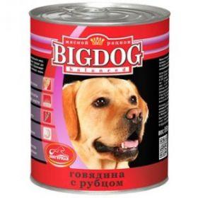 Зоогурман Big Dog Говядина с рубцом д/взрослых собак 850гр