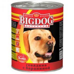Зоогурман Big Dog Говядина с бараниной д/взрослых собак 850гр