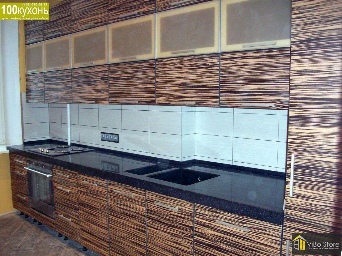 Кухня МДФ в пластике иск. камень 017