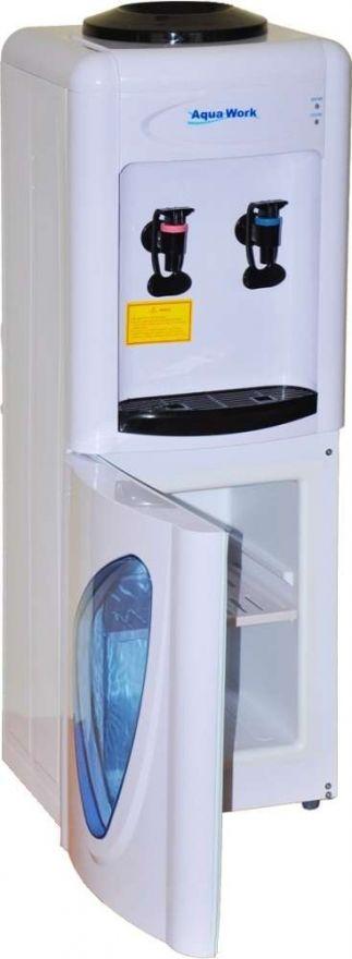 Кулер напольный  Aqua Work 0.7-LW без нагрева и охлаждения, со шкафчиком