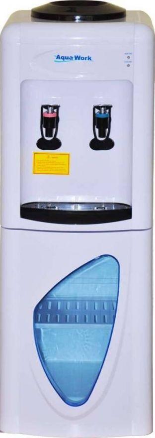 Кулер напольный Aqua Work 0.7LD с нагревом и электронным охлаждением, со шкафчиком