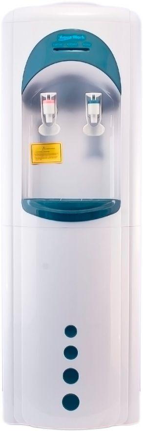 Кулер напольный Aqua Work 16LD/HLN белый с нагревом и электронным охлаждением