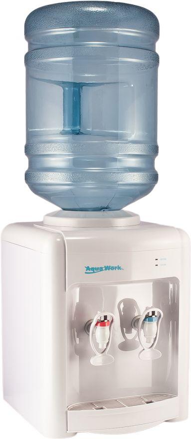 Кулер настольный Aqua Work 36ТDN белый с нагревом и электронным охлаждением
