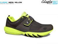 Кроссовки с дышащей подошвой Glagla Classic Neon Yellow 141059