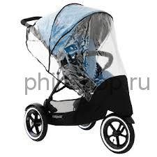 Дождевик и шторка для коляски Phil and Teds Sport / Navigator 2 для 1 ребенка