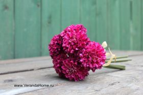 Букетик хризантемки бордо