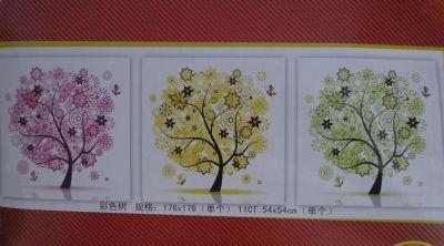 """набор для вышивания крестом """"Денежное дерево-2"""" (триптих)"""