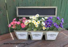 Кашпо Garden Shed c доской для пожеланий