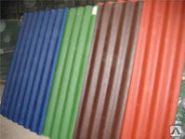 Лист Керамопласт 2000х900х4.5мм красный, синий, коричневый, изумруд, террак