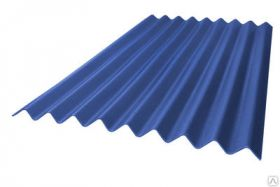 Лист Керамопласт 2000х900х4.5мм синий