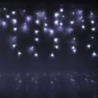"Гирлянда ""Бахрома"" улич. Ш:4 м, В:0,6 м, нить темная, LED-180-220V, контр."