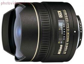 Объектив Nikon AF 10.5mm f2.8G ED DX Fisheye-Nikkor