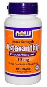 Астаксантин. Уникальный природный антиоксидант.10мг 60кап.