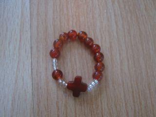 розарий-кольцо (агат)