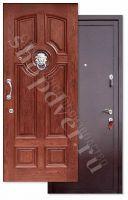 Металлические двери Порошковый окрас С БРОНЕ ПОЛОСОЙ+ Массив дуба