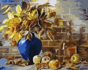 """Раскраска по номерам """"Осенний натюрморт"""""""