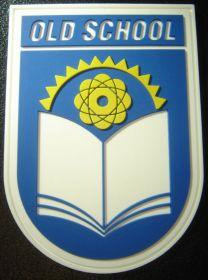 нашивка OLD SCHOOL