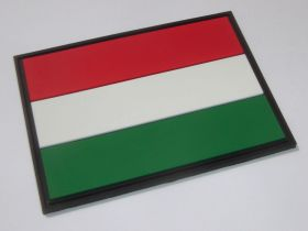 нашивка флаг Венгрии (Magyarország, Hungary, венгерский флаг)