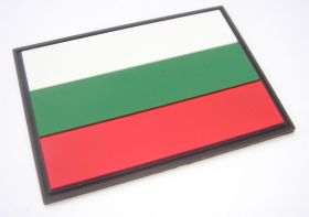 нашивка флаг Болгарии (Република България, Bulgaria, болгарский флаг)