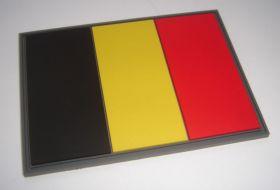 нашивка флаг Бельгии (Koninkrijk België, Royaume de Belgique, Königreich Belgien бельгийский флаг)