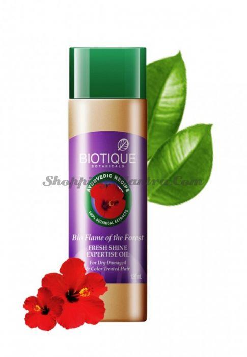 Масло для восстановления волос Биотик Лесное пламя | Biotique Bio Flame Of The Forest Fresh Shine Expertise Oil