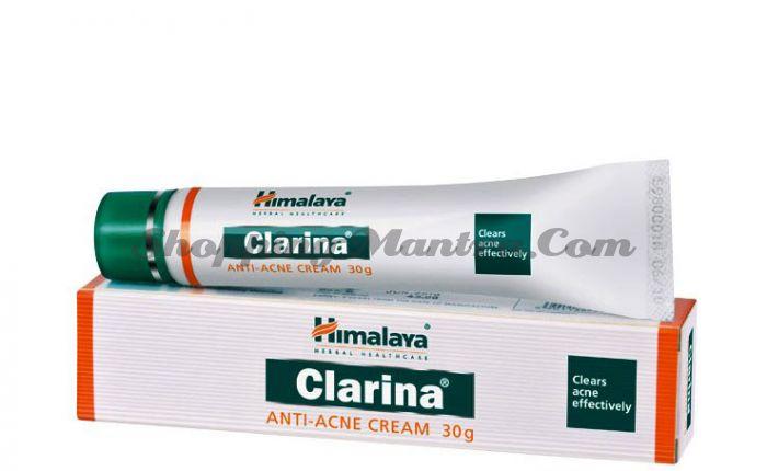 Крем для лица против прыщей Кларина Хималая / Himalaya Clarina Anti-Acne Face Cream