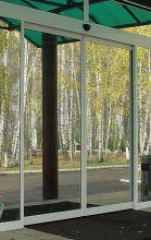 Откатные, раздвижные алюминиевые двери