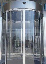 Карусельные револьверные алюминиевые двери