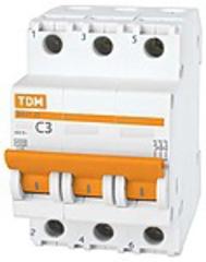 Автомат 3ф. на DIN на 25A TDM