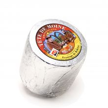 Сыр  Тет Де Муан Margot Fromages АОС 3 мес. в Серебряной фольге Головка ~ 850 г (Швейцария)