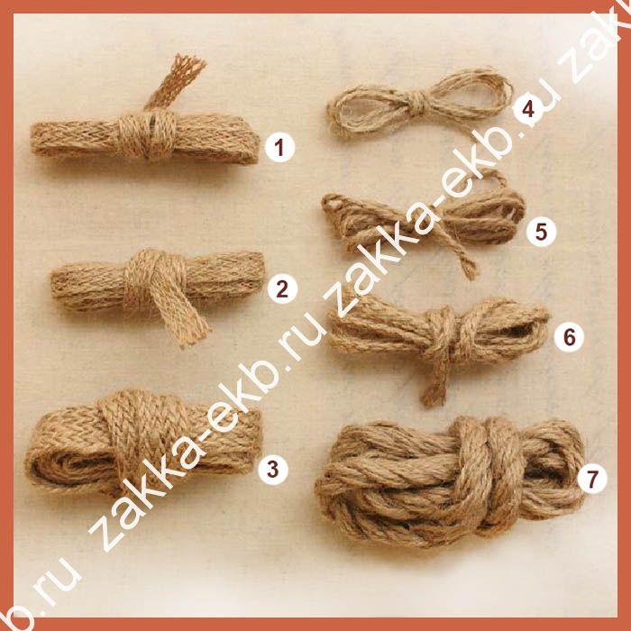 Плетение из пеньковой веревки своими руками 31