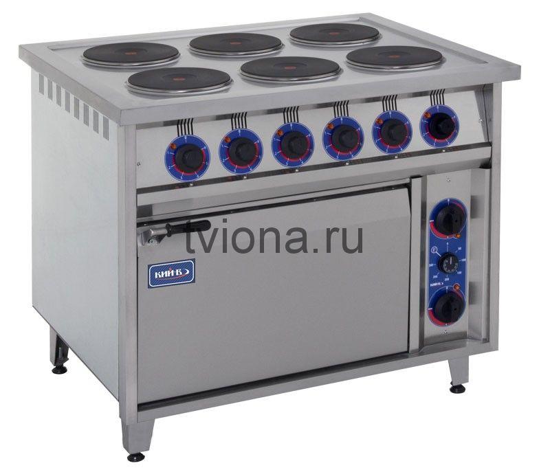 Плита профессиональная ПЕД-6КР