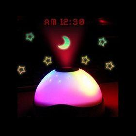 Часы-проектор звездного неба