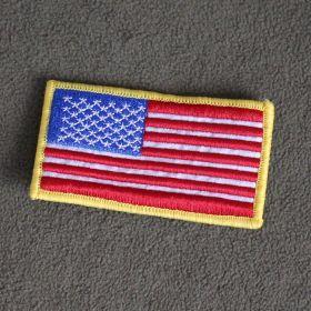 Нашивка флаг США (с velcro)