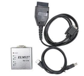 ELM327 USB ver . 1.5 Усиленный Металлический Корпус ( Русская версия )