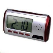 Настольные часы с будильником, скрытой камерой и датчиком движения.