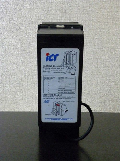 Купюроприемник ICT A7 со стекером на 400 купюр