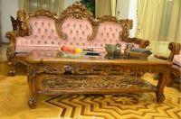 комплект мебели из дерева тик