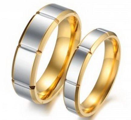 Стальные обручальные кольца