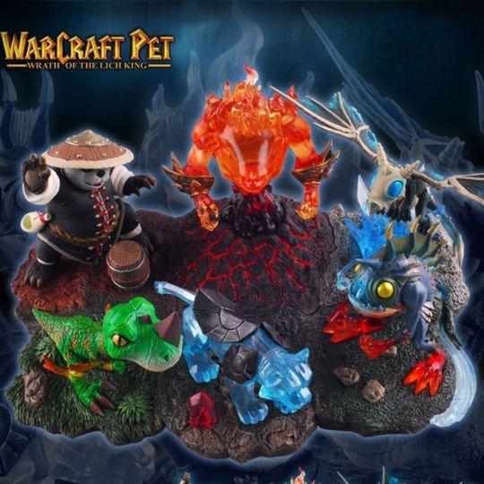 Набор Петов из World Of Warcraft (6 персонажей)
