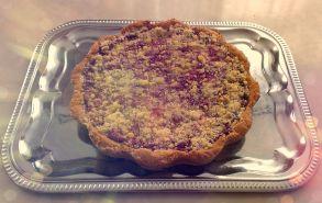 Пирог из песочного теста с клубничной начинкой (1000 г.)