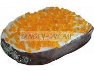 Забавный бисквитный торт-шутка «Гигантский бутерброд»