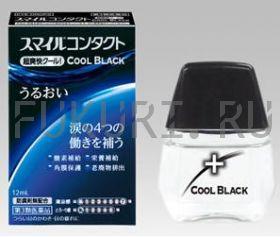 Глазные капли для контактных линз Contact Cool Black
