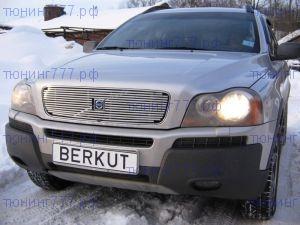 Решетка радиатора Berkut, нерж.сталь, а/м 2002-2006
