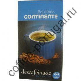 """Кофе растворимый """"Continente Descafeinado"""" 10 пакетов"""