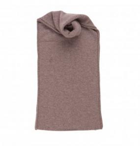 Теплый вязаный кашемировый шарф, высокая плотность, 100 % драгоценный кашемир ,цвет Какао, плотность 8