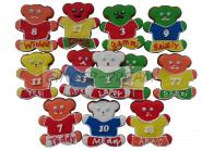 Эксклюзивные подарки детям Мишки футболисты «Ginger Bears VIP» Сладости