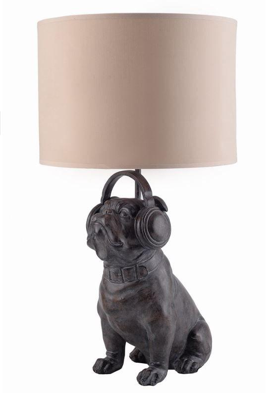 Настольный светильник Собака Ди -Джей CH0406